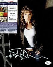 "ERICA DURANCE Signed ""Smallville"" 8x10 Photo JSA #N18437"