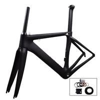 2019 3K road bike carbon frame 48 51 54 56cm road carbon frame aero carbon frame