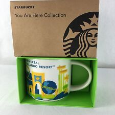 Starbucks Universal Orlando Resort Mug Cup You Are Here Collection NEW 2016