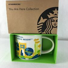 Starbucks Universal Orlando Resort Mug Cup You Are Here Collection NEW 2016