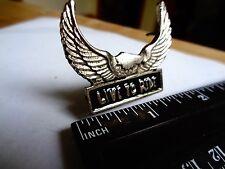 LIVE TO RIDE Harley Davidson Motorcycle Motor Pin Eagle Badge Factory HD Emblem