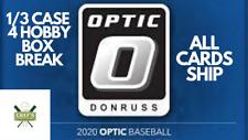 CHICAGO WHITE SOX - 2020 OPTIC BASEBALL - 1/3 CASE - 4 HOBBY BOX BREAK #8