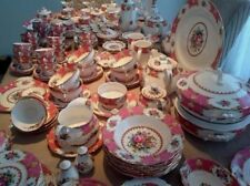 "Royal Albert ""LADY CARLYLE"" Tè Set & Stoviglie-inglese BONE CHINA."