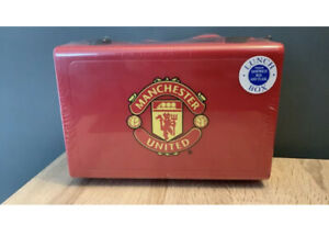 Manchester United Lunch Box With Sandwich Box And Flask New And Sealed