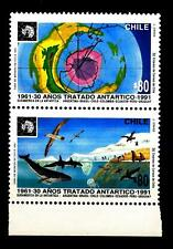 CHILE - CILE - 1991 - 30 anni del Trattato Antartico - (C)