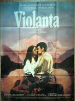 Cartel Cine Violanta Daniel Schmid - 120 X 160CM