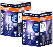 2X H4 24V 70W P43t Osram Halogen Lamp Bulbs Lorry 75W Workshop Original Bus