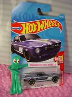 '67 FORD MUSTANG #315✰lavender;mc5✰Then and now✰2018 i Hot Wheels WW CASE N/P