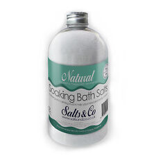 Eucalyptus, Peppermint, Lemongrass Epsom Bath Salts Natural - Salts & Co - 500g