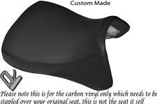 CARBON VINYL CUSTOM FITS YAMAHA XT 1200Z SUPER TENERE 10-14 LOW FRONT SEAT COVER