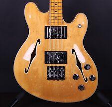 Fender Starcaster Bass Hollowbody Natural Electric Guitar #5767
