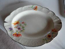Vintage J & G Meakin sol Sunshine Sandwich Plate  'Rainbow' Crown Rd 16758
