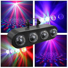 Equinox Comet 4 x 3W RGBW LEDs 4 Way Multi Beam Effect DJ Screen Visual FX Bank