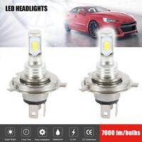 2X H4 LED Ampoules Super White Xenon Phare Set Phare voiture feux croisement LB