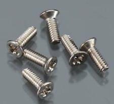 Duratrax DTXC8634 Flat Head Machine Screws 2 x 6mm (6): Evader EXT & EXT2