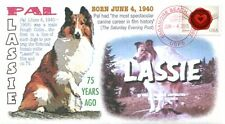 """COVERSCAPE computer designed 75th anniversary of birth of """"Pal"""" (Lassie) cover"""