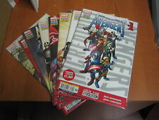 INCREDIBILI AVENGERS 1/24 serie completa MARVEL NOW 2 3 4 5 6 7 8 9 0--peA5
