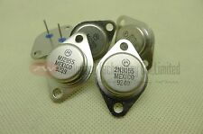Motorola 2N3055 MJ2955 A Pair of NPN Power Transistor 60V 15A TO-3