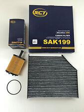 SCT GERMANY ÖLFILTER + AKTIVKOHLEFILTER AUDI A4 B8 A5 8T Q5 8R 2.0TDI