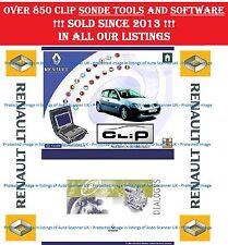 Renault CAN CLiP V168, Dialogys (ENG, FR, DE, RU), Re-Prog V151, PIN Extractors