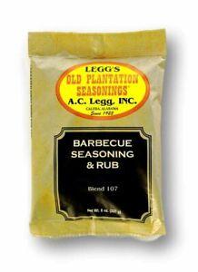 A.C. Legg INC Barbecue Seasoning and Rub - Net Wt. 8 oz.