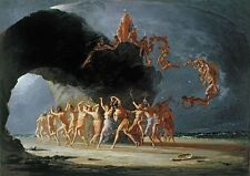 Richard Dadd: Come Unto These Yellow Sands. Fine Art Print/Poster (3581)