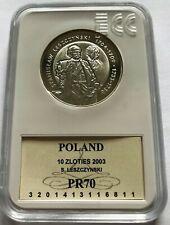 Poland - Polen  10zl Stanislaw Leszczynski Grading PR 70