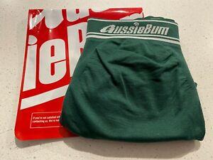 aussieBum Men's Underwear SeamlessTech 2.4 Briefs Brand New Forest (green) M