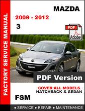 service repair manuals for mazda 3 for sale ebay rh ebay com 2005 Mazda 3 SP23 Specs Mazda 3 SP23 Wheel