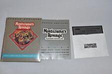 Montezumas Revenge Commodore 64 Game w original box Disk Rule Book 1984 AGCC