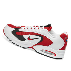 NIKE MENS Shoes Air Max Triax - White, Red & Soar - OW-CD2053-101