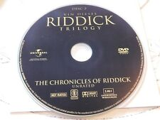 The Chronicles Of Riddick Unrated Dvd Disc Only 38-3