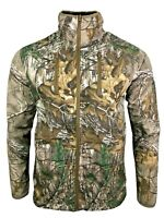 Unisex Ex REALTREE Xtra Durable Brush Jacket Hunting Farming Fishing Outdoor