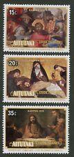 Aitutaki   1978   Scott # 163-165    Mint Never Hinged Set