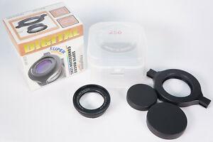 Raynox Macroscopic Lens Model DCR-250 52-67mm OVP