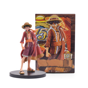 """7"""" Anime One Piece Monkey D Luffy PVC Action Figure Model Toy Doll Xmas Gift"""