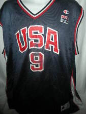 Vince Carter Team USA OLYMPIC CHAMPION Basketball Jersey Snapback sz 52 XXL