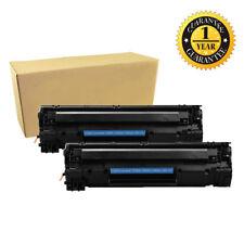 2PK CE285A 85A Toner Cartridge For HP 85A LaserJet P1102 P1102W M1212NF MFP New