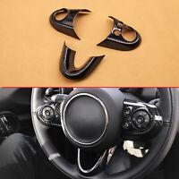 Carbon Fiber Steering Wheel Cover Trims Accessories For Mini F54 F55 F56 F57 F60