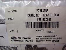 Genuine OEM Subaru Forester Rear Of Seat Cargo Net  2010 - 2013 (F551SSC001)