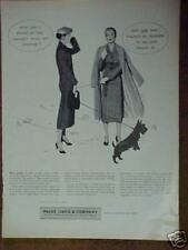 1956 Scottish Terrier Westie Dog Parke Davis Print Ad