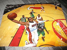DWYANE WADE SIGNED AUTOGRAPH 11x14 PHOTO MIAMI HEAT NBA CHAMPIONS IN PERSON F