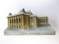 Viena Viena Imán Opera Opera Edificios Poly Recuerdo Austria