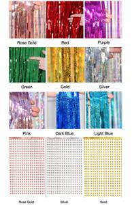Curtain Tinsel Shimmer Rain Party Celebration Decoration