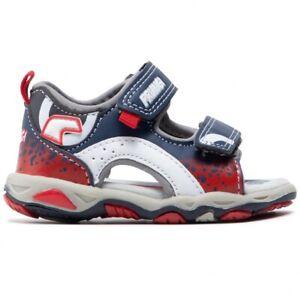 PRIMIGI 7450611 Sandalias Zapatos Niño Piel Rasgados Rojo
