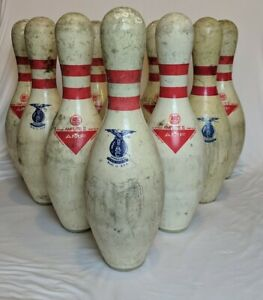 1980's-90 AMF Bowling Pins AMFLite II Vintage used -ONE PIN $$Free shipping US$$