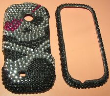 Full Bling hard shell case LG Cosmos 2 VN251, 2 part snap together, NEW