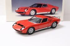 1:18 AUTOart Lamborghini Miura SV Coupe red