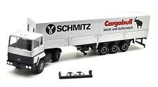 """Herpa 1:87 """" Ford.Transcontinental Pritschen-Sattelzug / Schmitz - Cargobull """""""