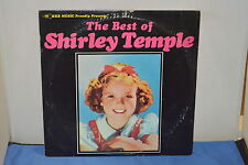 THE BEST OF SHIRLEY TEMPLE VINTAGE 1978 VINYL RECORD ALBUM LP33 HRB 2007